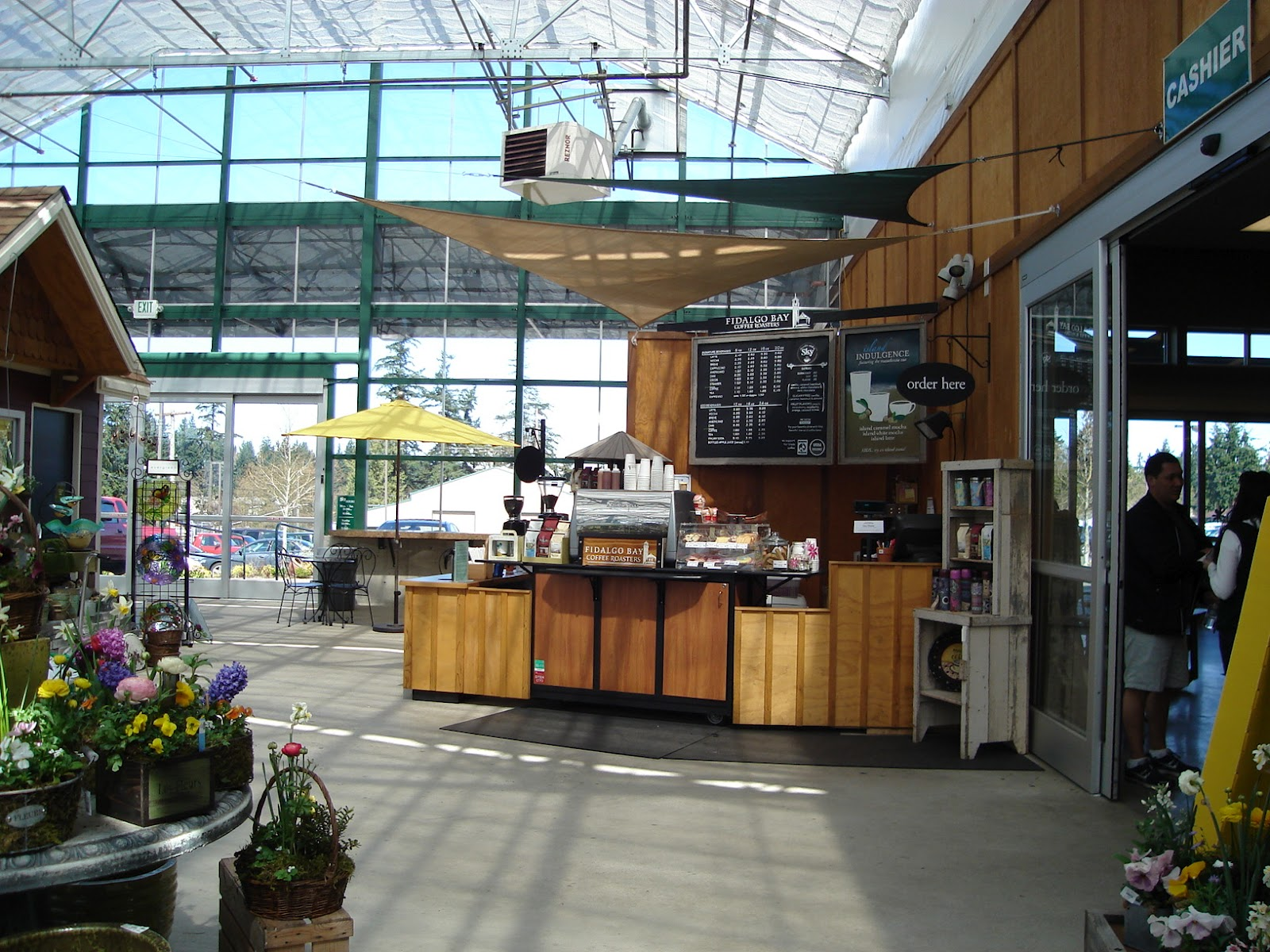 The Coffee Is Right By North Entrance