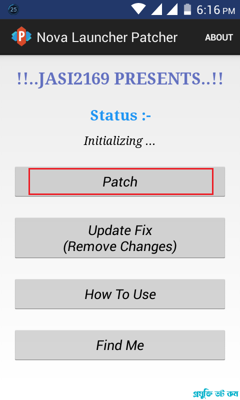 Nova Launcher Patcher