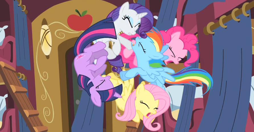 My Little Pony: Friendship is magic, subtitulada al español.