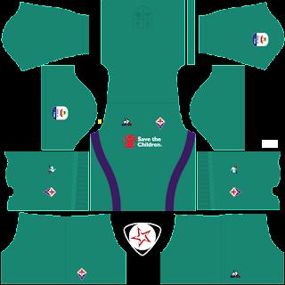 ACF Fiorentina 2018 - 2019 GK Home Kit