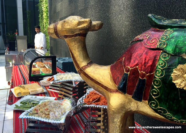 Oberoi Street Art Brunch grill station