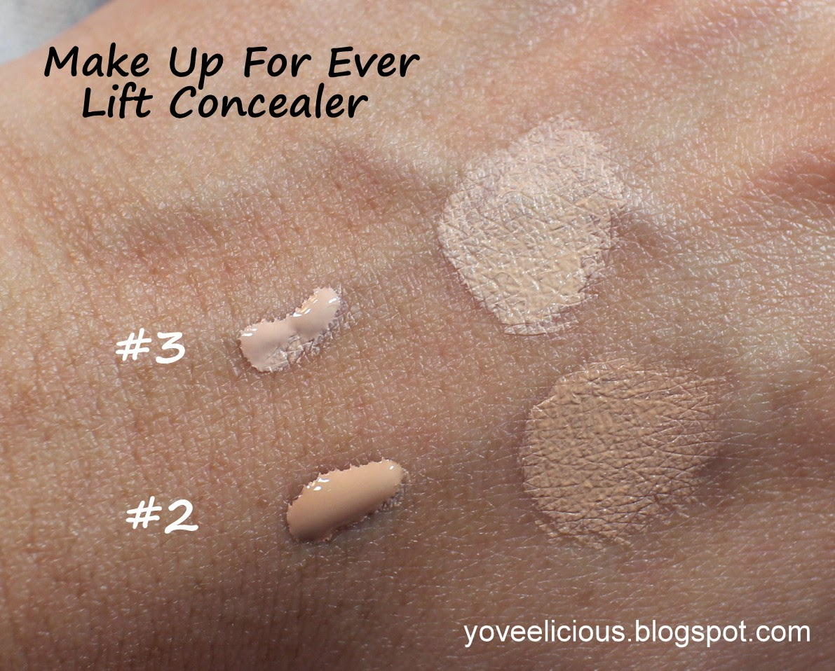 Yoveelicious Make Up For Ever Lift Concealer Review And Swatches 2 3