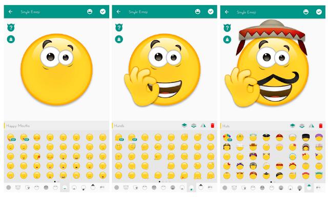 تحميل صانع لرموز التعبيرية إيموجي emojibuilder
