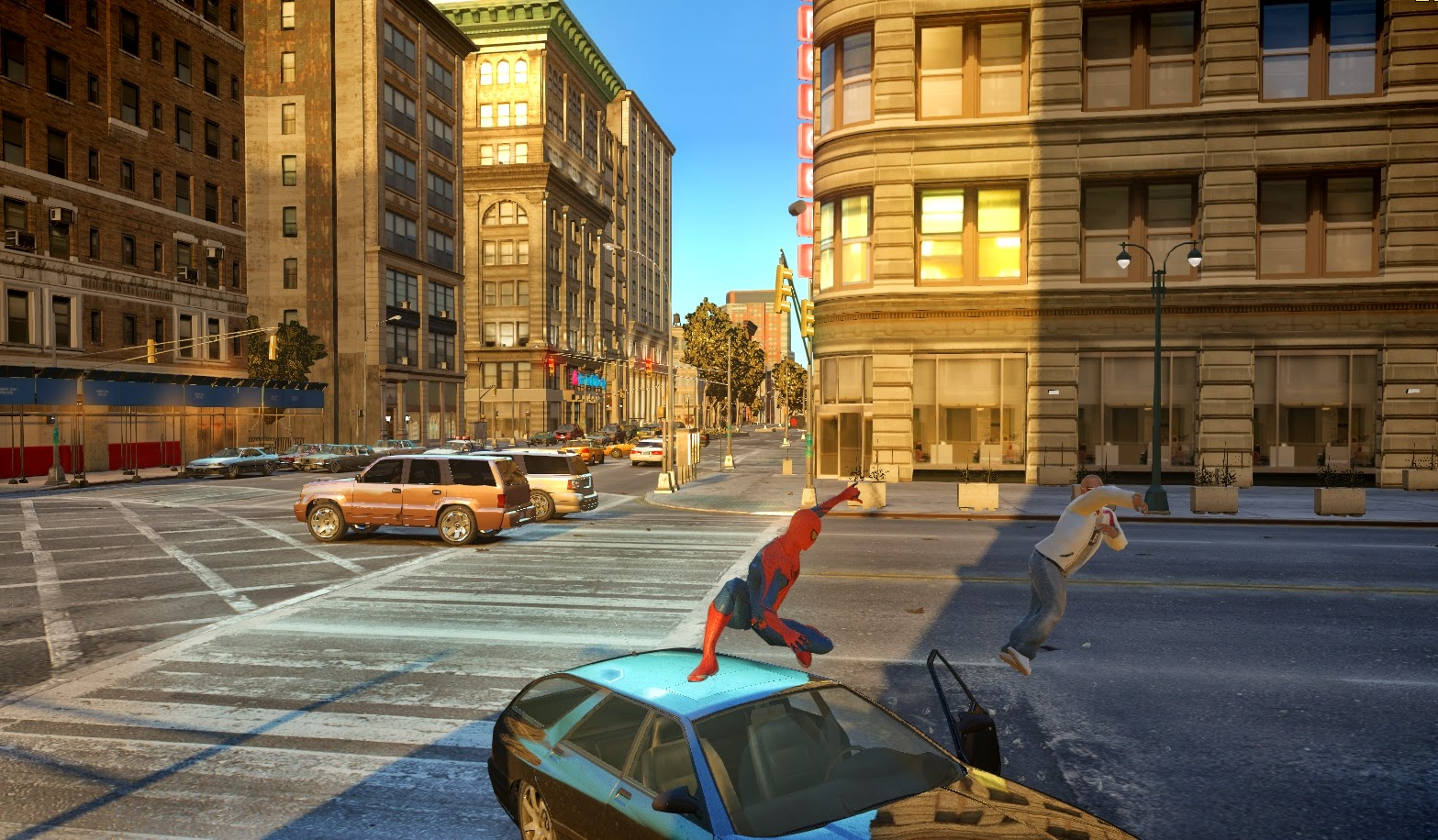 GTA X Scripting: Spiderman IV - GTA IV mod by Bob Lester and JulioNIB
