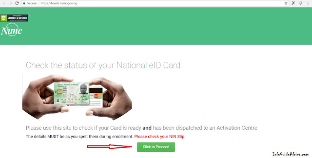 How To Check If Your Identity Card Has Been Approved