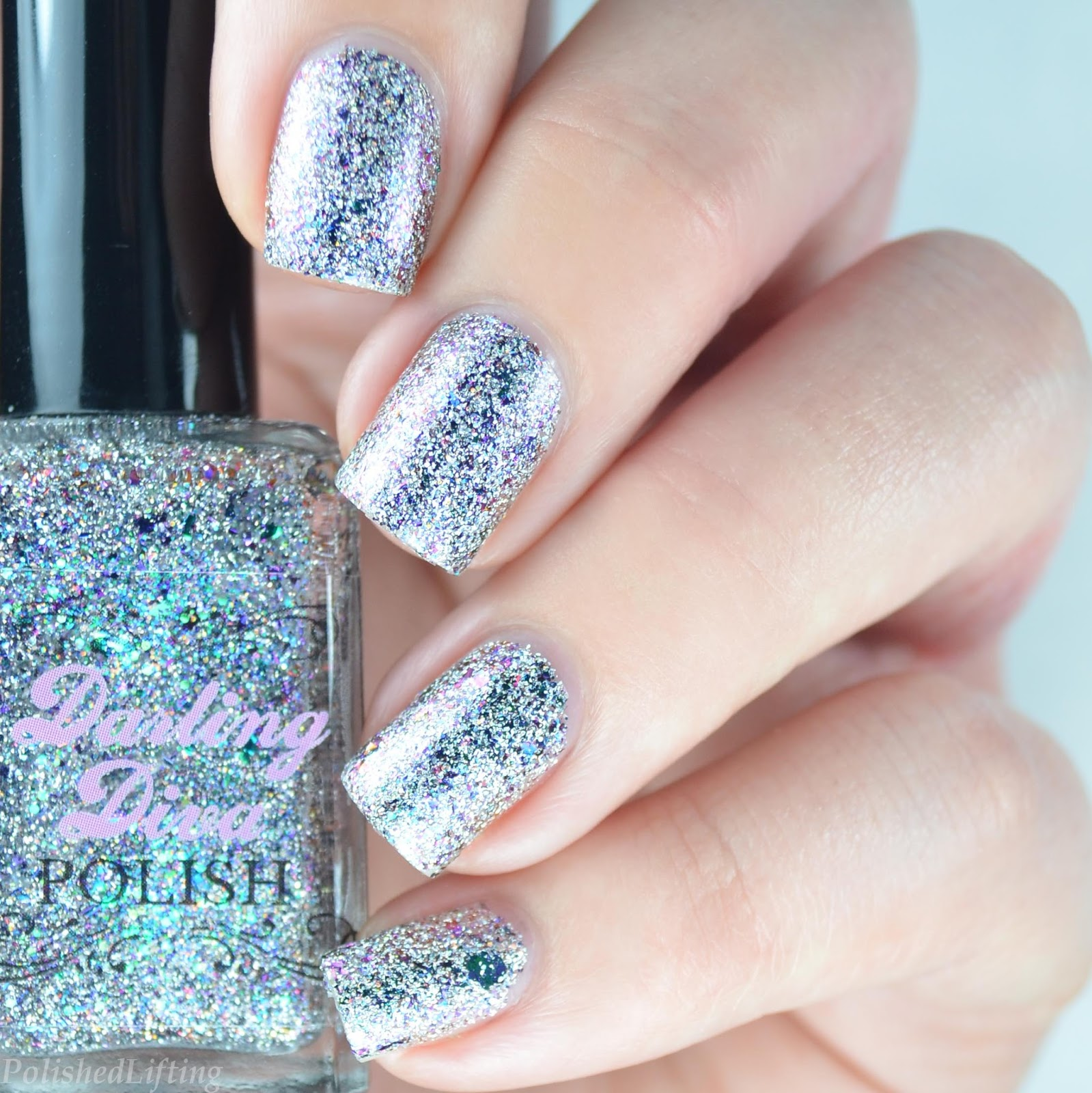 Nail Art London: MoYou London Kaleidoscope Nail Art Featuring Darling Diva