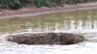 Lubang Misterius ini Telan 25 Ton Ikan di China