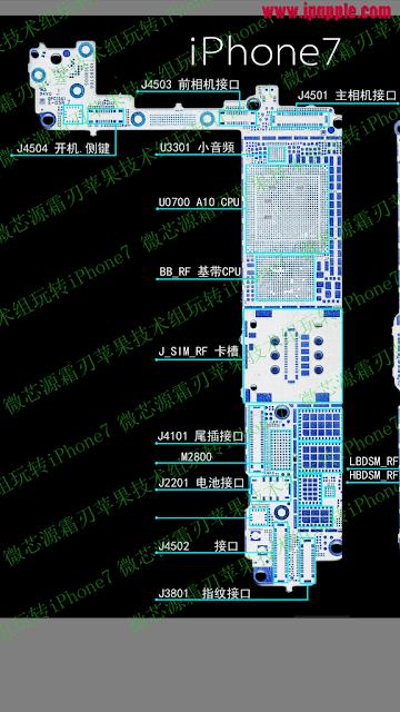 iPhone 7 PCB