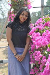 Actress Nitya Shetty Latest Stills in Short Skirt at Padesave Interview  0017