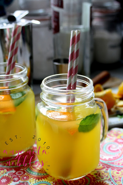 Create the perfect vodka mojito bursting with orange flavour and mellowed with smooth honey!