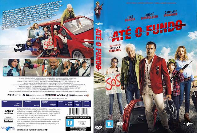 Capa DVD Até o Fundo [Exclusiva]