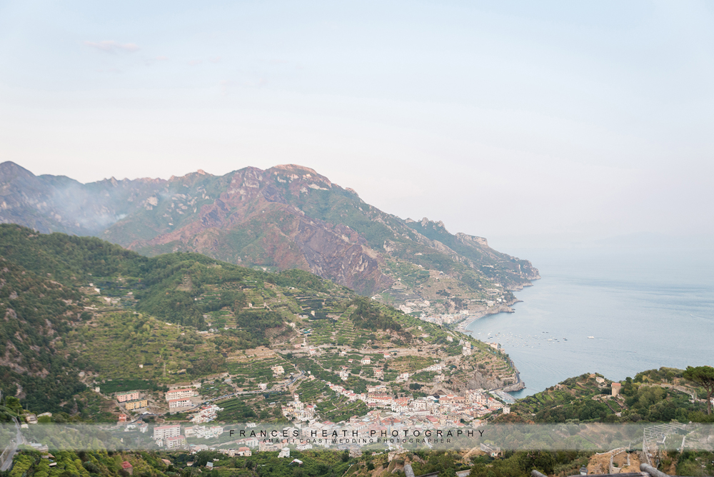 Ravello moutain view