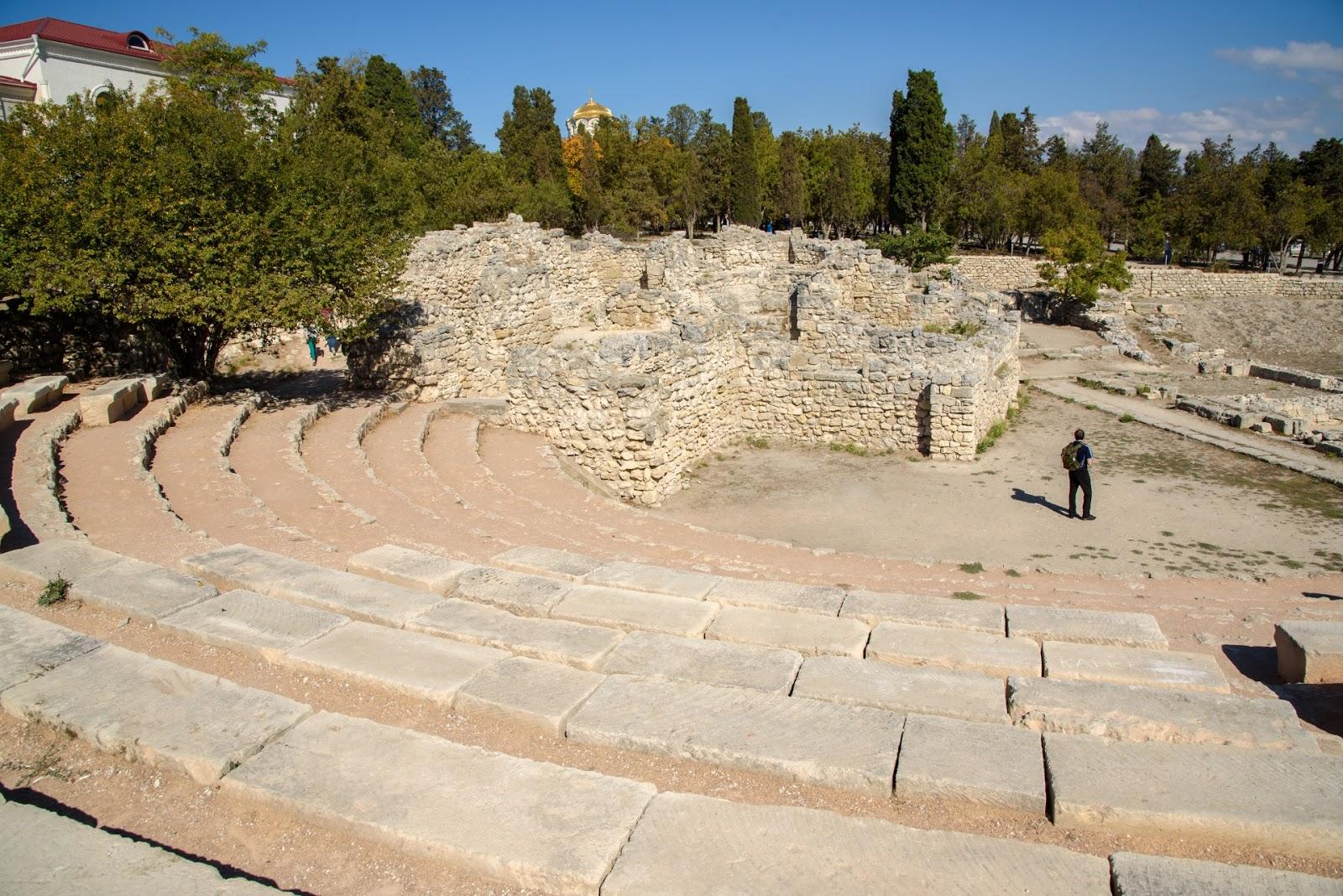 Амфитеатр в Херсонесе