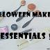 Halloween Makeup Essentials!!!