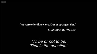 Borgen episode 10 opening quote
