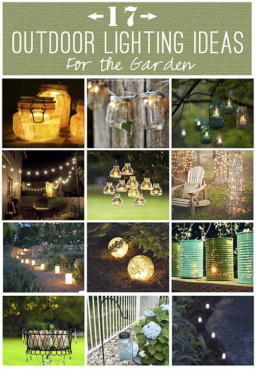 DIY Lighting: Outdoor Solar Lighting Ideas for the Garden