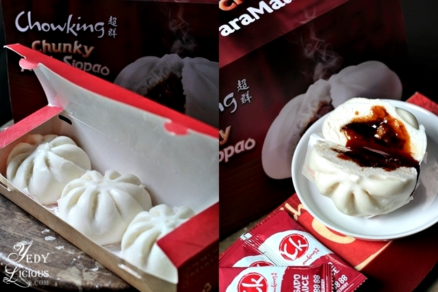 Chunky, meaty, and flavorful Chowking Asado Siopao
