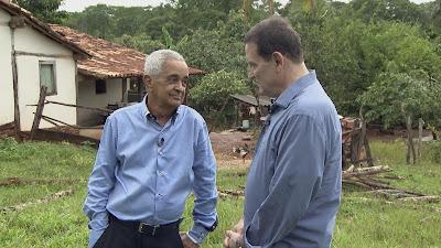 Sr. Francisco e Cabrini (Divulgação/SBT)