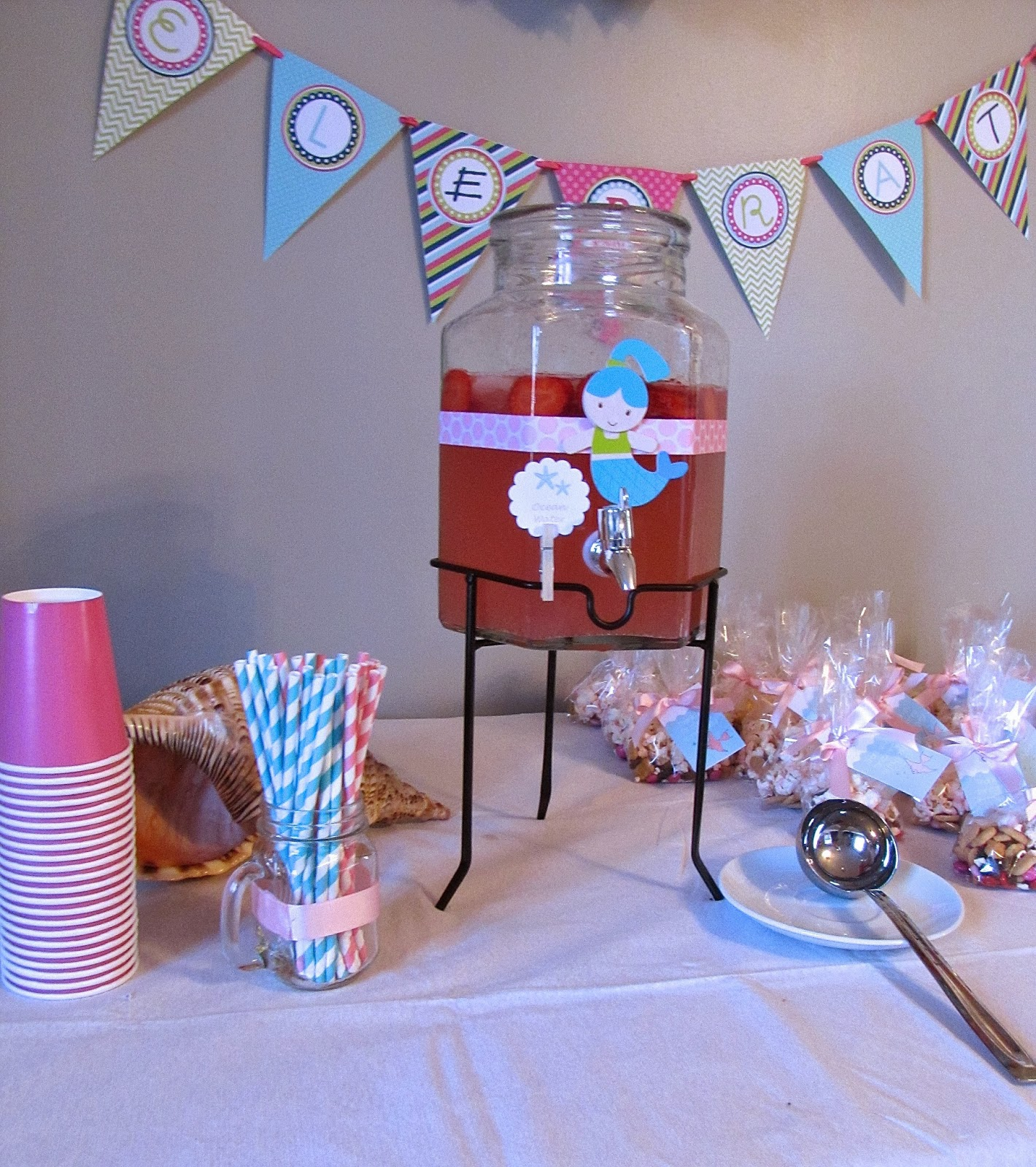 mermaid party decor ideas