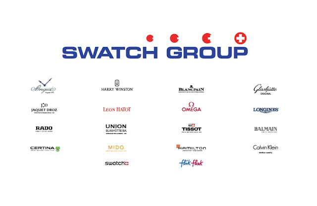 Swatch Group: positive half-year report 2017