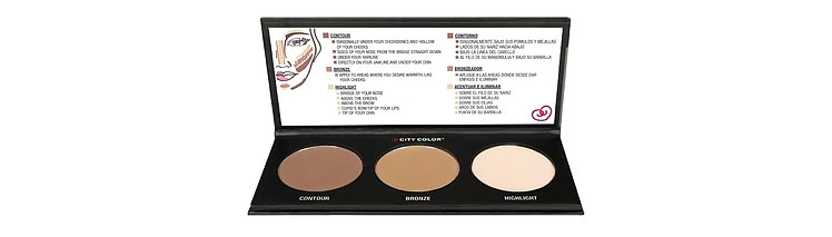 City Color Cosmetics Contour Effects 2 Palette