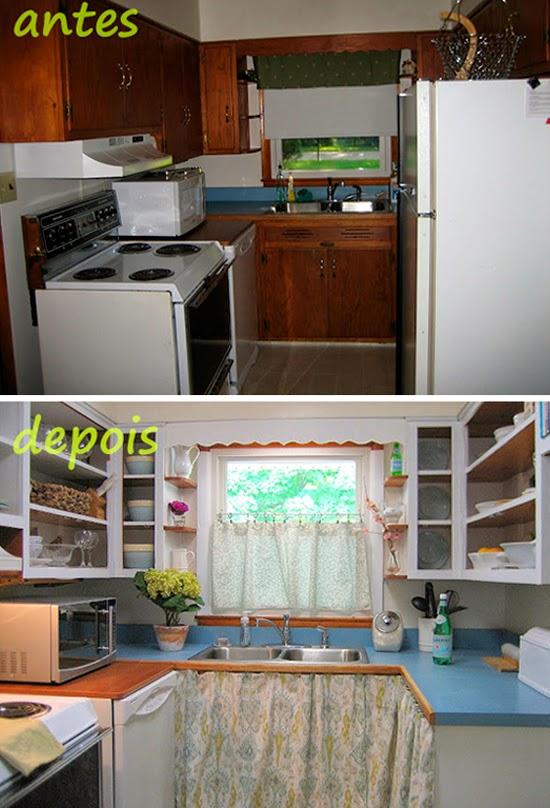 renovação na cozinha