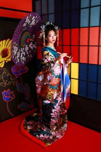 Kyoto geisha style costume shoot.