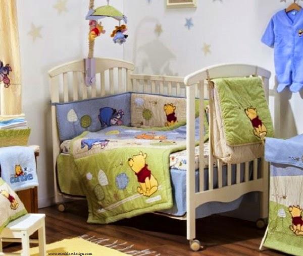 Idée déco jolie chambre bébé winnie l'ourson