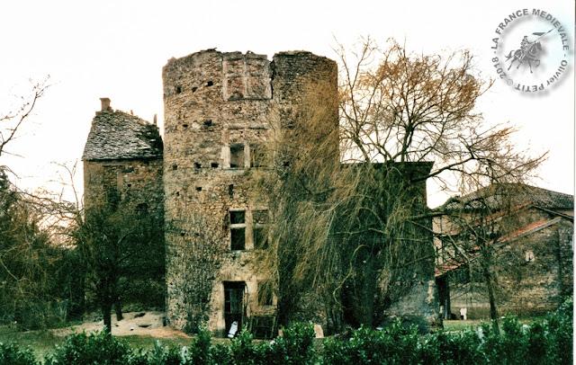 FRONTONAS (38) - Maison-forte de Certeau