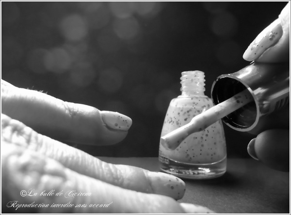 Vernis Speckled, blog beauté, polish speckled
