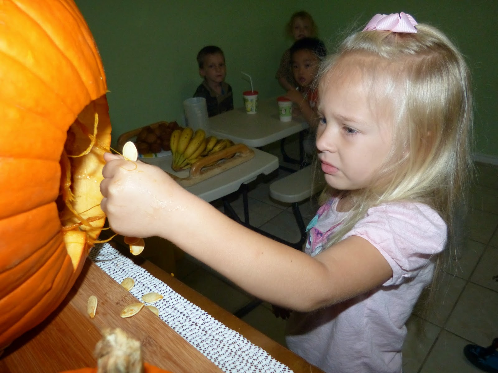J is for jack-o-lantern, and other Halloween fun