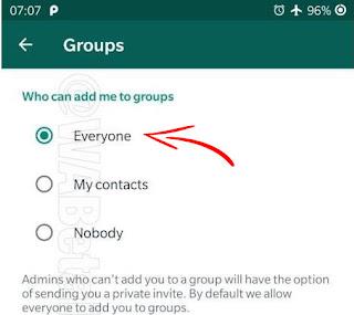 تعرف على هذه الطريق الجديد التي يمكنك من خلالها أن تقوم بمنع أي شخص عن إضافتك إلى مجموعات الواتساب المزعج