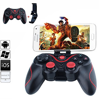controller gamepad bluetooth wireless per samrtphone ios android pc windows ps3 foyu