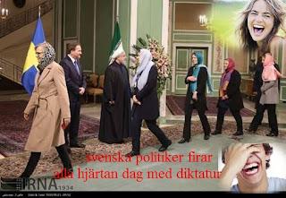 قرارداد ملیاردی رژیم ایران با دولت سوئد.