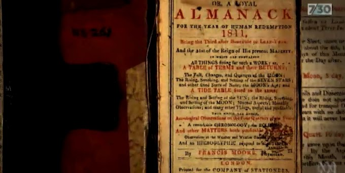 200 Year Old Mysterious Notebook Contain Various Magical Charms In Australia