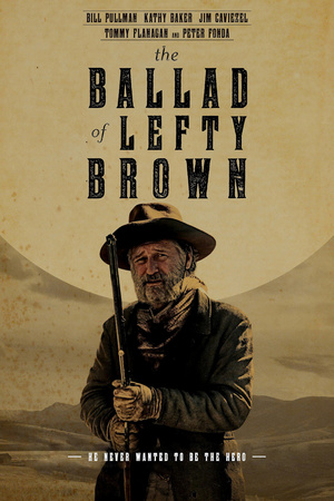 Poster The Ballad of Lefty Brown 2017