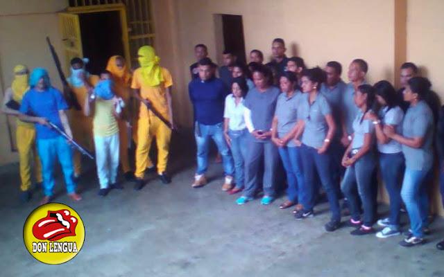 Presos de Cumaná mantienen como rehenes a todos los funcionarios de la cárcel