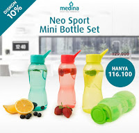 Dusdusan Neo Sports Mini Bottle Set ANDHIMIND