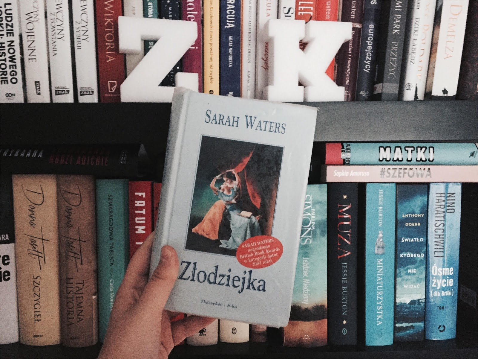 Złodziejka, Sarah Waters