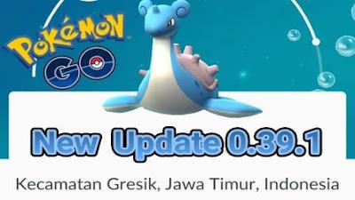 Update Terbaru Pokemon Go Versi 0.39.1