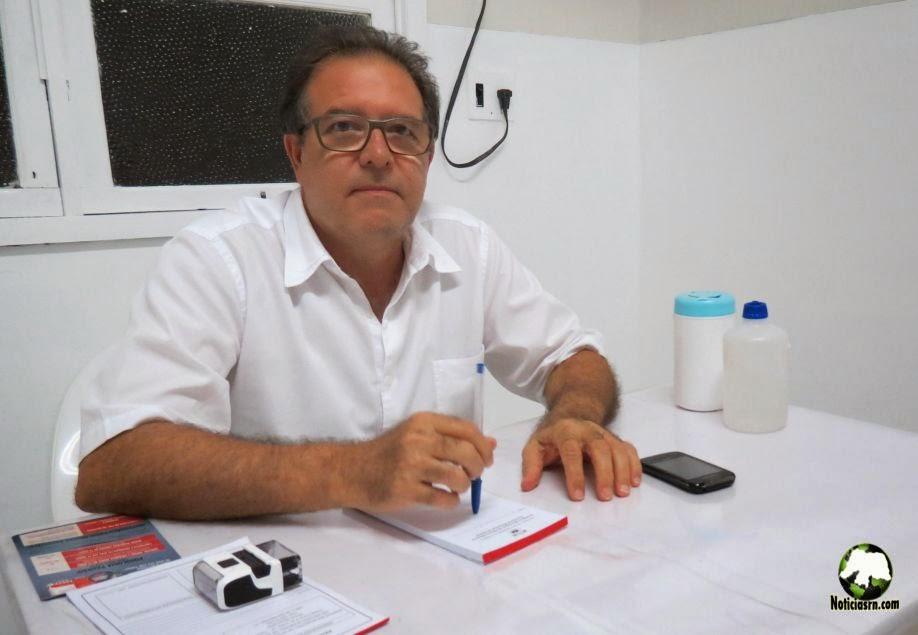 Resultado de imagem para ex-prefeito de Angicos Ronaldo de Oliveira Teixeira