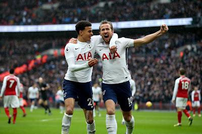 Harry Kane Celebrasi Ketika Hotspur Melawan Arsenal- Judisessions