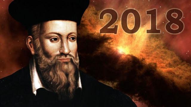 Nostradamus y el 2018: nueva gran guerra y desastres