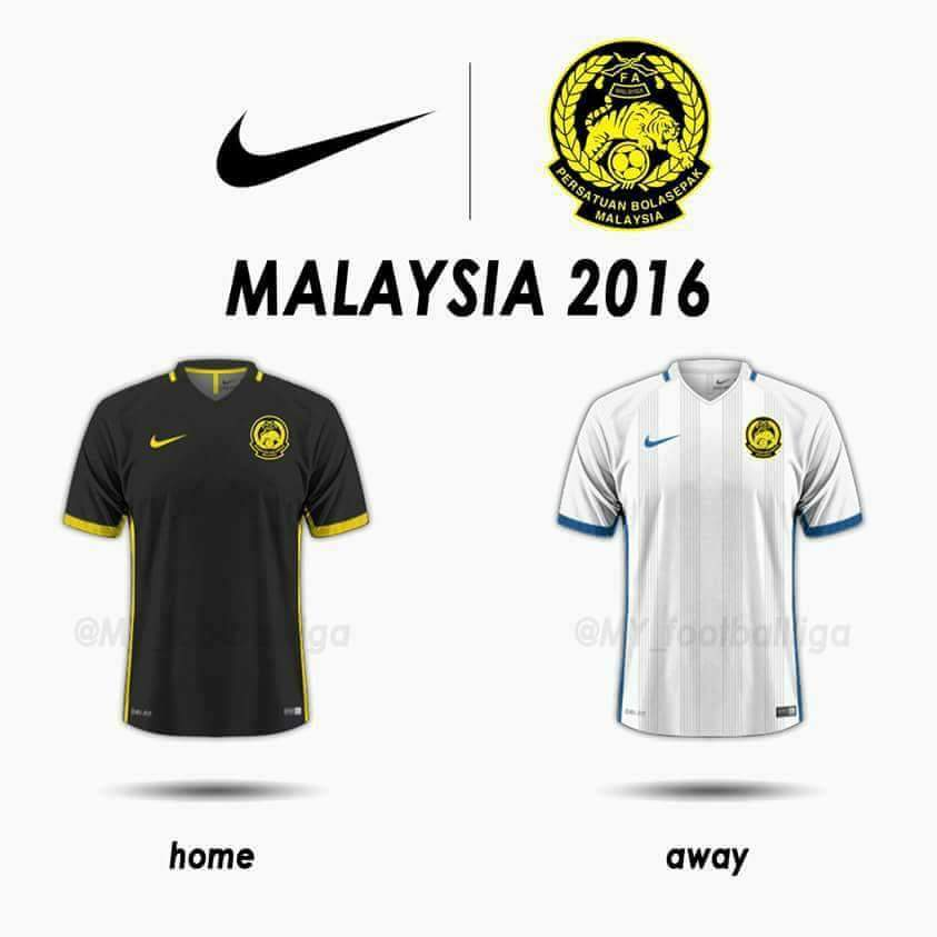 ad75d6e3d Jersi  home  skuad Harimau Malaysia sebelum ini menggunakan warna kuning  sebagai warna utama dan pastinya penggunaan warna hitam sebagai warna utama  adalah ...