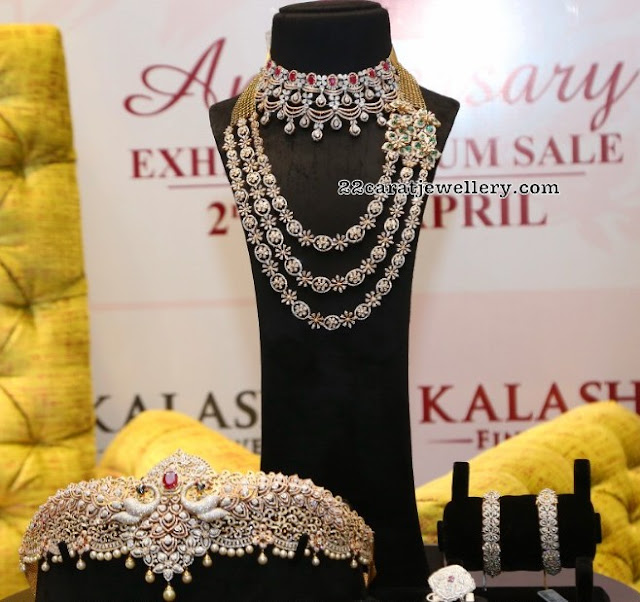 Exquisite Choker pieces from Kalasha Jewellers