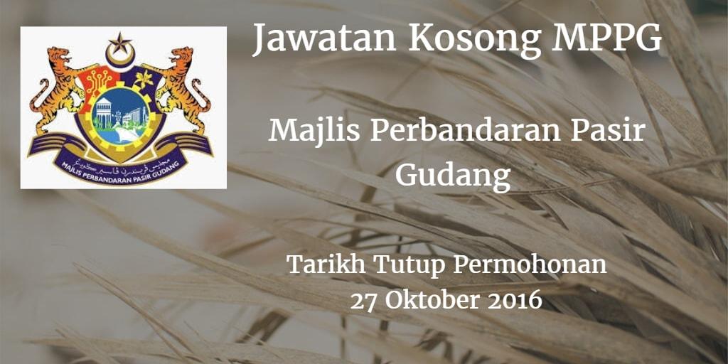 Jawatan Kosong MPPG 27 Oktober 2016