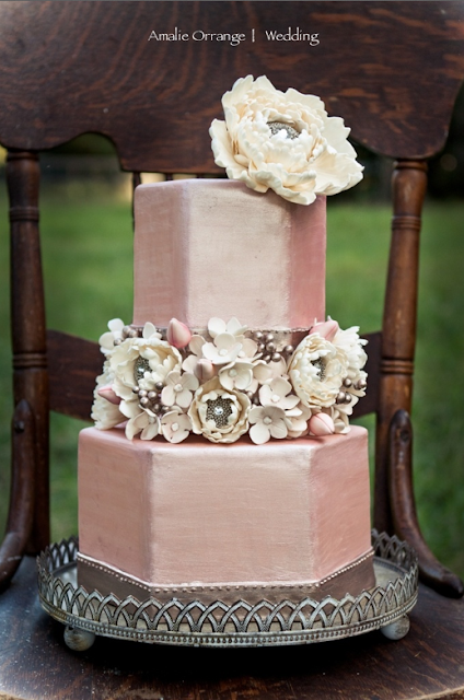 dusty pink and silver wedding cake dusty amp champagne bliss green villa barn amp gardens 13795