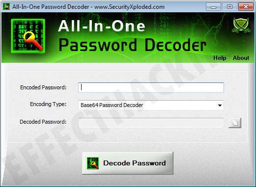All-In-One Password Decoder