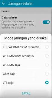 Tips Mengunci Sinyal 4G