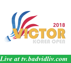 Korea Open 2018 live streaming